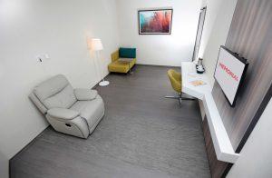 kemoterapi ve sanat merkezi kemoterapi odaları